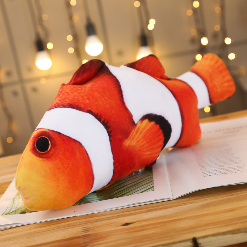 Halloween And Christmas.Fish Pillow Doll 3d Printing Free Shipping For Halloween And Christmas