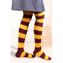 Harry Potter Gryffindor House Cosplay Stockings Free Shipping for Halloween and Christmas