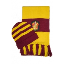 Harry Potter Gryffindor Cosplay Hat and Scarf Free Shipping for Halloween and Christmas