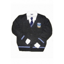 Ravenclaw Cosplay Sweater and Badge from Harry Potter for Halloween and Christmas