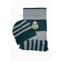 Slytherin House Cosplay Hat and Scarf from Harry Potter Free Shipping for Halloween and Christmas