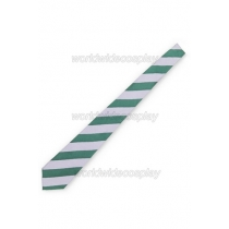 Slytherin House Cosplay Wide Silk Necktie from Harry Potter for Halloween and Christmas