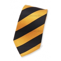 Hufflepuff House Cosplay Wide Necktie from Harry Potter Free Shipping for Halloween and Christmas