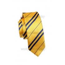 Hufflepuff House Cosplay Necktie from Harry Potter Free Shipping for Halloween and Christmas