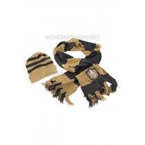 Hufflepuff Cosplay Hat and Scarf from Harry Potter Free Shipping for Halloween and Christmas