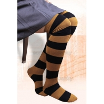 Hufflepuff House Cosplay Stockings from Harry Potter Free Shipping for Halloween and Christmas