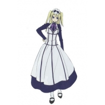 Black Butler Kuroshitsuji Hannah Anafeloz Cosplay Costume for Halloween and Christmas