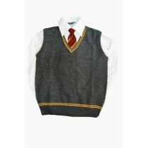 Gryffindor House Cosplay Vest, Shirt and Necktie from Harry Potter Free Shipping Custom Made for Halloween and Christmas