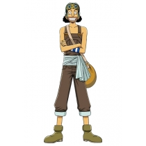 One Piece Usopp Cosplay Costume Free Shipping Custom Made for Halloween and Christmas