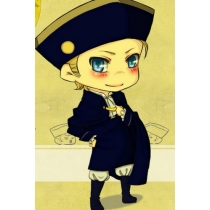 Axis Powers Hetalia Holy Roman Empire Cosplay Costume for Halloween and Christmas