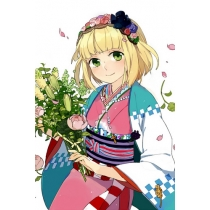Free Shipping Ao no Exorcist Moriyama Shiemi Cosplay Costume for Halloween and Christmas