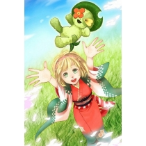 Ao no Exorcist Moriyama Shiemi's Cosplay Doll Free Shipping for Halloween and Christmas