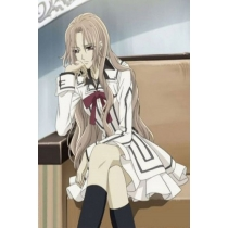 Vampire Knight Yuki Cross White Cosplay Costume for Halloween and Christmas