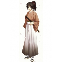Hakuouki Yukimura Chitsuru Cosplay Costume Free Shipping for Halloween and Christmas