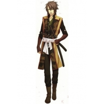 Hakuouki Souji Okita Cosplay Costume Free Shipping for Halloween and Christmas