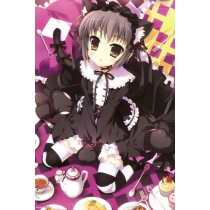 Free Shipping The Melancholy of Suzumiya Haruhi Nagato Yuki Cosplay Dress for Halloween and Christmas
