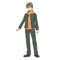 Silver Spoon Gin no Saji Yugo Hachiken Cosplay Costume Free Shipping for Halloween and Christmas