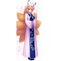 Free Shipping Touhou Project Ran Yakumo Cosplay Costume for Halloween and Christmas