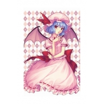 Free Shipping Touhou Project Remilia Scarlet Cosplay Costume and Wig for Halloween and Christmas