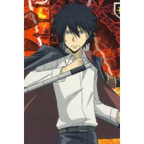 Katekyo Hitman Reborn Hibary Kyouya Cosplay Costume Free Shipping for Halloween and Christmas
