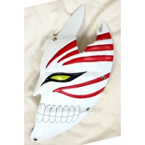 Bleach Hollow Ichigo Half Face Cosplay Mask Free Shipping for Halloween and Christmas