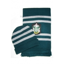 Slytherin Cosplay Hat and Scarf Narrow from Harry Potter for Halloween and Christmas