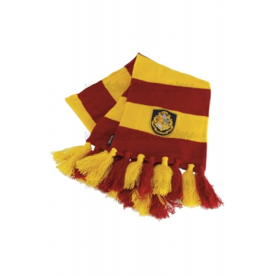 Gryffindor House Cosplay Scarf from Harry Potter for Halloween and Christmas