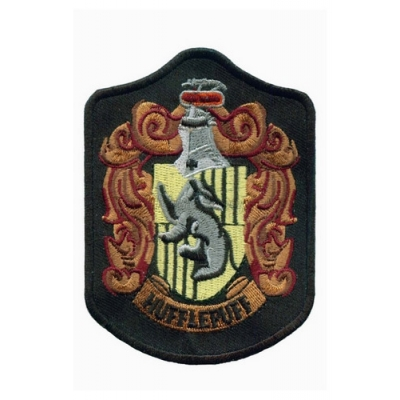 Hufflepuff House Cosplay Badge from Harry Potter for Halloween and Christmas