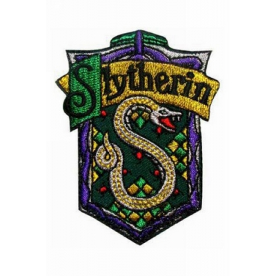 Slytherin Cosplay Badge from Harry Potter for Halloween and Christmas