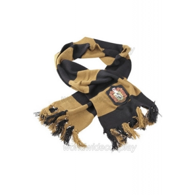 Hufflepuff Cosplay Scarf from Harry Potter Free Shipping for Halloween and Christmas