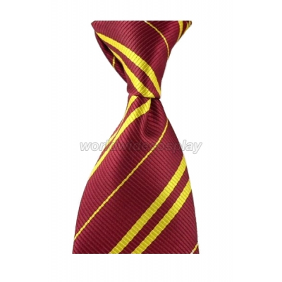 Gryffindor House Cosplay Necktie from Harry Potter Free Shipping for Halloween and Christmas