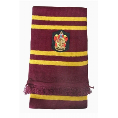 Gryffindor Cosplay Scarf from Harry Potter Free Shipping for Halloween and Christmas