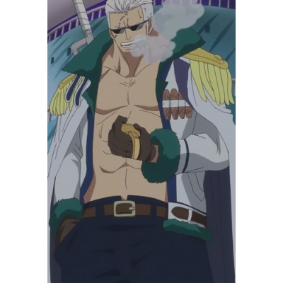 Free Shipping One Piece Smoker Cosplay Costume Custom Made for Halloween and Christmas