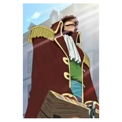 Free Shipping One Piece Gol D. Roger Red Cosplay Costume Custom Made for Halloween and Christmas