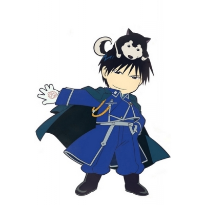 Fullmetal Alchemist Roy Mustang Cosplay Costume Free Shipping for Halloween and Christmas