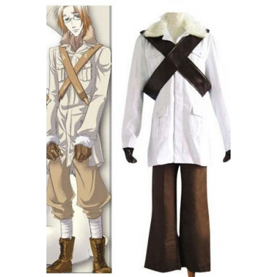 Axis Powers Hetalia Canada Cosplay Costume Free Shipping for Halloween and Christmas