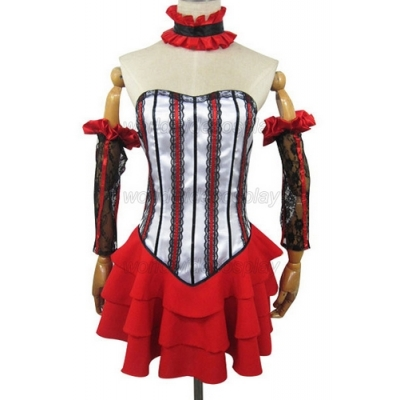Free Shipping Chobits Chii Red Cosplay Costume for Halloween and Christmas