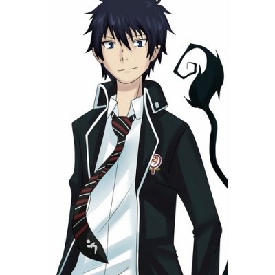 Free Shipping Ao no Exorcist Rin Okumura Cosplay Costume for Halloween and Christmas
