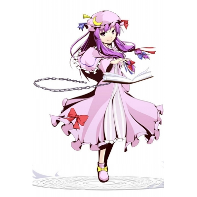 Free Shipping Touhou Project Scarlet Weather Rhapsody Patchouli Knowledge Cosplay Costume for Halloween and Christmas