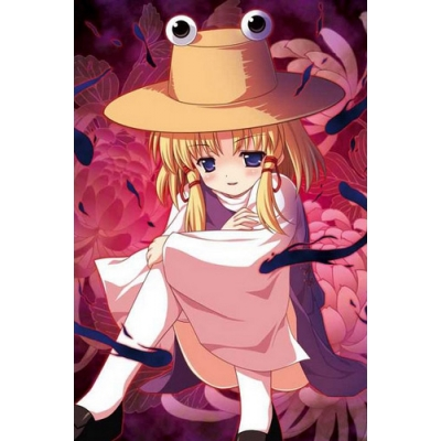 Touhou Project Moriya Suwako Cosplay Hat Free Shipping for Halloween and Christmas