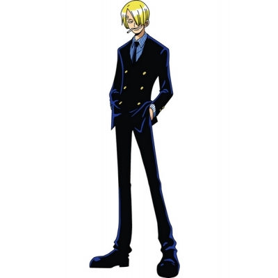 One Piece Sanji Cosplay Costume Free Shipping for Halloween and Christmas