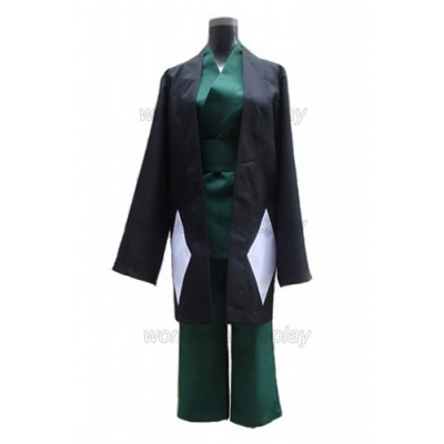Free Shippping Bleach Urahara Kisuke Cosplay Costume and Wig for Halloween and Christmas