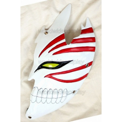 Bleach Hollow Ichigo Half Face Cosplay Mask for Halloween and Christmas