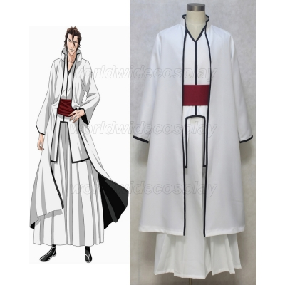Bleach Aizen Sousuke Cosplay Costume Free Shipping for Halloween and Christmas