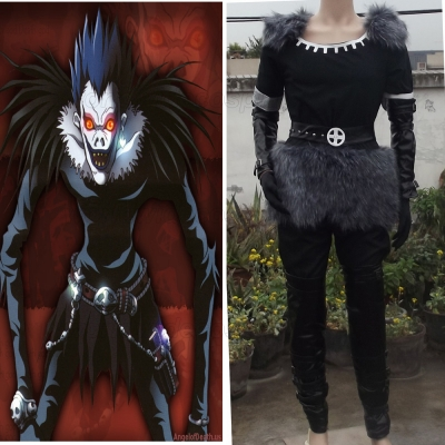 Death Note Shinigami Ryuk Cosplay Costume Free Shipping for Halloween and Christmas