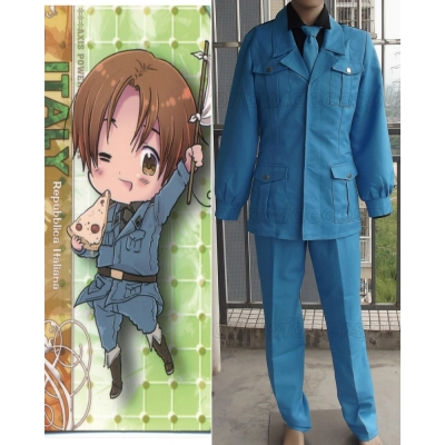 Axis Powers Hetalia Italy Cosplay Costume Free Shipping for Halloween and Christmas