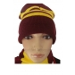 Harry Potter Gryffindor Cosplay Hat and Scarf for Halloween and Christmas