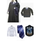 Free Shipping Harry Potter Ravenclaw Cosplay Robe Sweater Shirt Necktie Badge for Halloween and Christmas