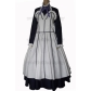 Black Butler Kuroshitsuji Hannah Anafeloz Cosplay Costume Free Shipping for Halloween and Christmas