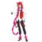 Black Butler Kuroshitsuji Grell Sutcliff Cosplay Wig Free Shipping for Halloween and Christmas